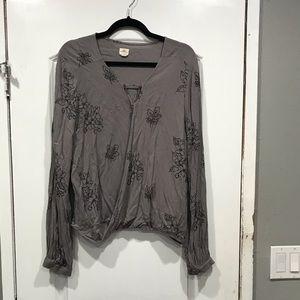 Long sleeve O'Neill blouse